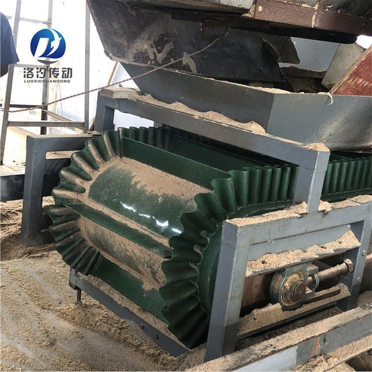 綠色PVC擋板輸送帶擋板不會脫落
