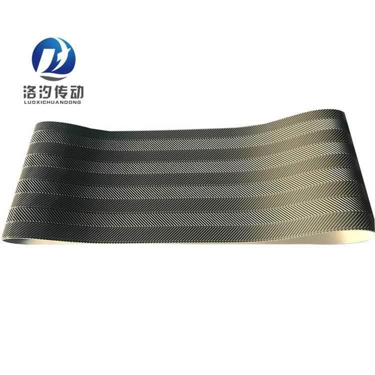 魚骨紋PVC輸送帶無縫接頭