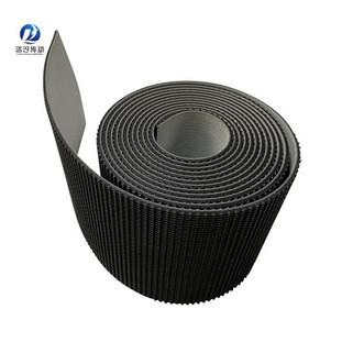 4.0mm黑色草紋PVC輸送帶