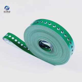 2.0綠色PVC打孔輸送帶