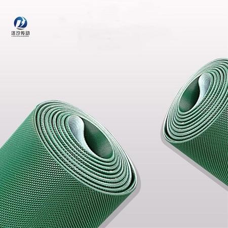 5.0綠色PVC鉆石紋輸送帶