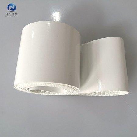 白色平面PVC輸送帶